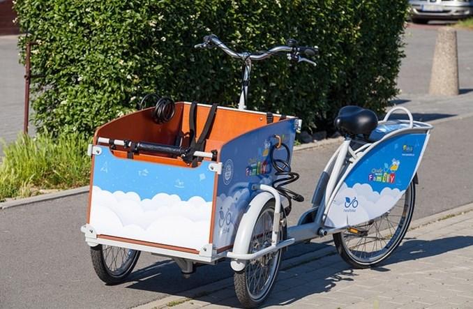 Tychy. Pierwsze publiczne rowery cargo na Górnym Śląsku