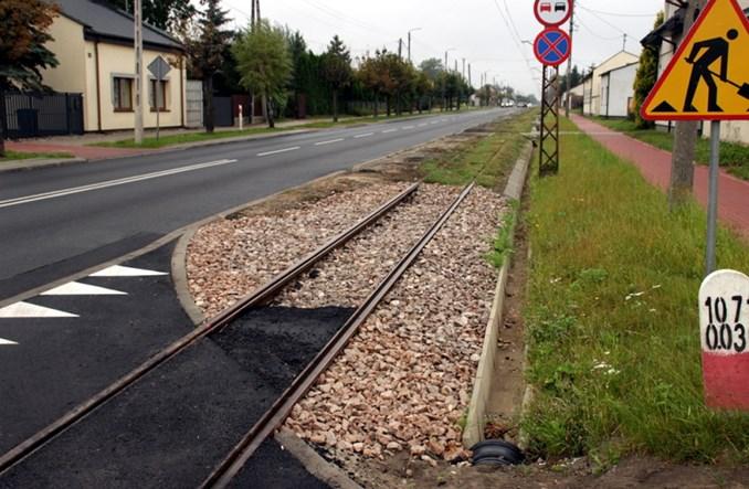 Lutomiersk: Kradzież sieci trakcyjnej