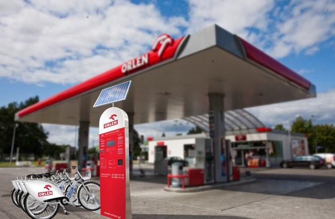 Stacje Nextbike na stacjach Orlenu