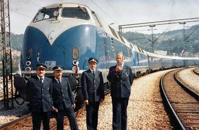 Niebieski pociąg Josipa Tity