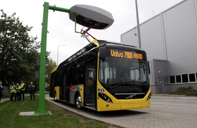 Volvo prezentuje hybrydowy autobus dla belgijskiego TEC