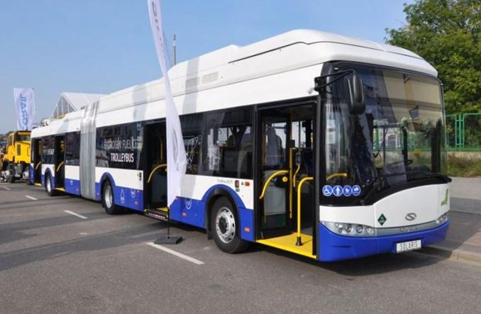 Solaris zaprezentował unikalny trolejbus wodorowy dla Rygi