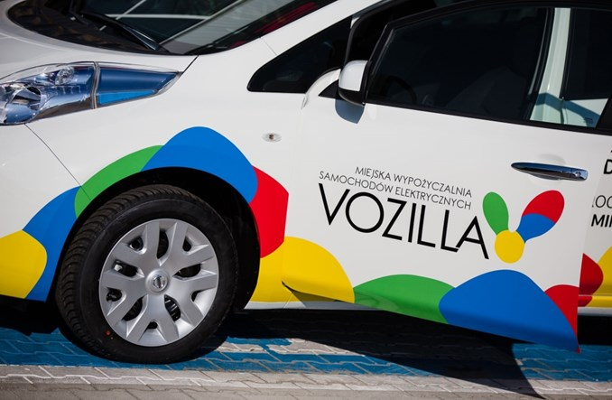Wrocław. Rusza Vozilla. Pierwszy miejski car sharing w Polsce