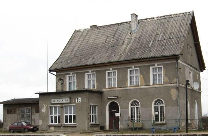 Dworzec Tołkiny do remontu