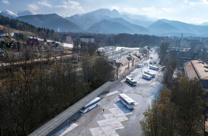 Zakopane:  Centrum komunikacyjne przy dworcu po raz trzeci