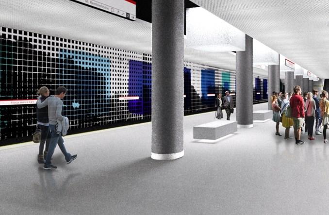 Metro na Bródno: Spór o grafikę na ścianach zatorowych
