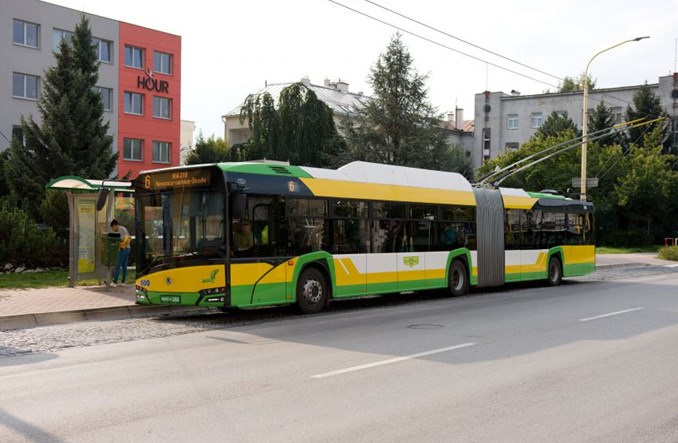 Pierwszy trolejbus Solarisa i Škody z nowym nadwoziem już jeździ w Żylinie