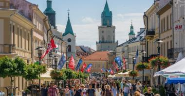 Lublin przebuduje deptak w ciągu Krakowskiego Przedmieścia