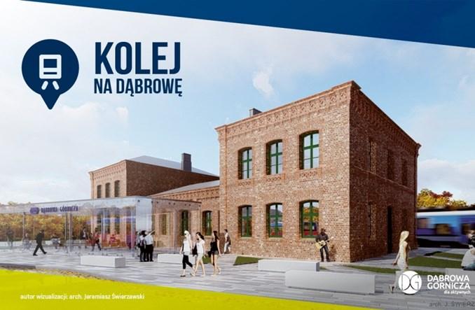 Dąbrowa Górnicza z przetargiem na przebudowę stacji. Po raz drugi