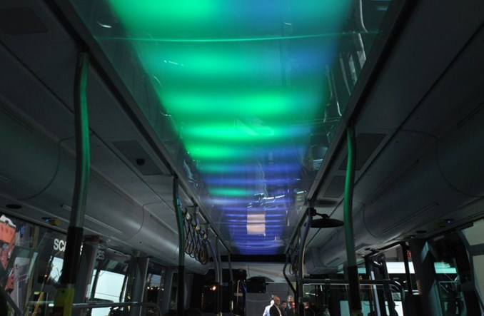 Arktyczna i elektryczna Scania ze Słupska jedzie na północ Szwecji [zdjęcia]