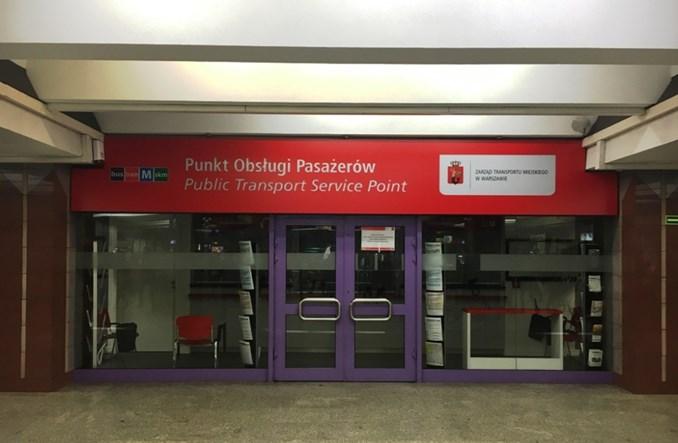 """Warszawa: """"Na dniach"""" otwarcie punktu obsługi pasażera na Politechnice"""