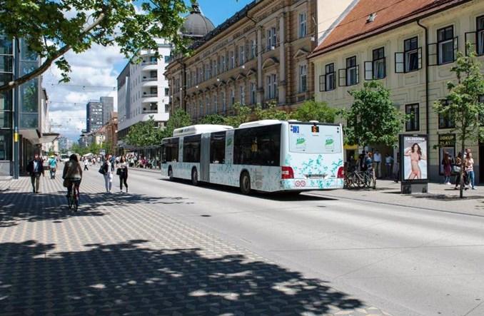 Autobus najlepszym przyjacielem pieszego. Przykład z Lublany