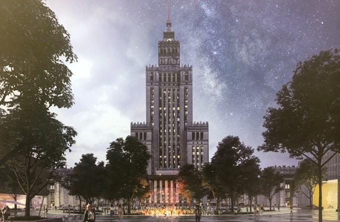 Rusza zagospodarowanie pl. Defilad. Najpierw kanał techniczny