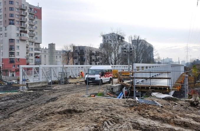 Warszawa: Linia obwodowa wróci później – w połowie 2018 r. (zdjęcia)