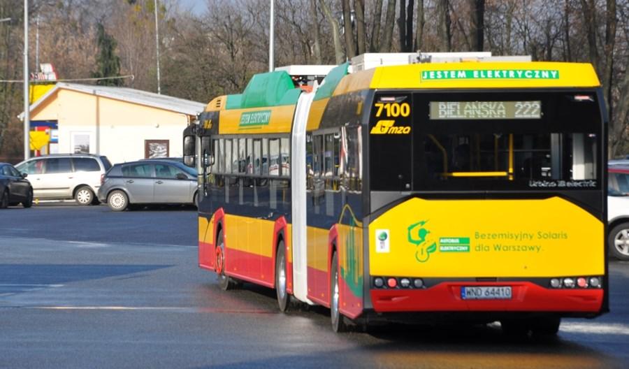 Warszawa rezygnuje z kupowania autobusów z silnikiem diesla!