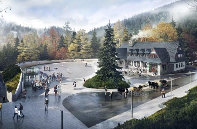 Zakopane: Są pieniądze na przebudowę placu w Kuźnicach i otoczenia dworca