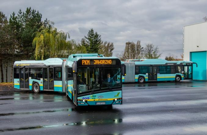 Jaworzno w 40 proc. oparte na elektrobusach od Solarisa