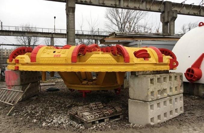 Metro na Wolę: Transport tarcz TBM. Start drążenia w lutym