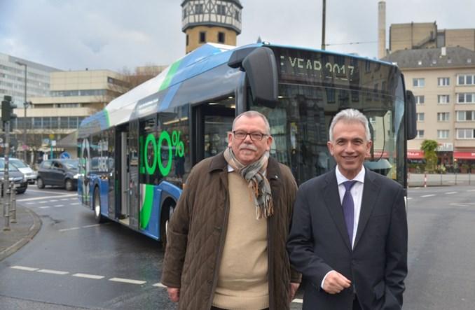 Solaris dostarczy 5 autobusów elektrycznych do Frankfurtu nad Menem