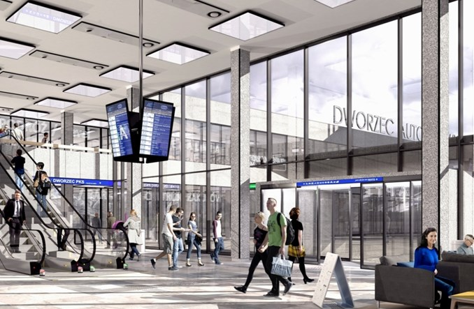 Dworzec w Olsztynie mógłby zachwycać. Także po remoncie