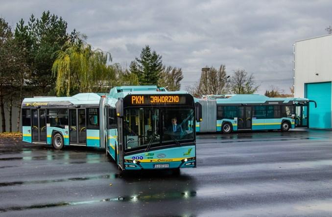 Jaworzno kupuje kolejne 20 elektrobusów