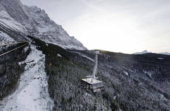 Zugspitze z rekordową koleją linową