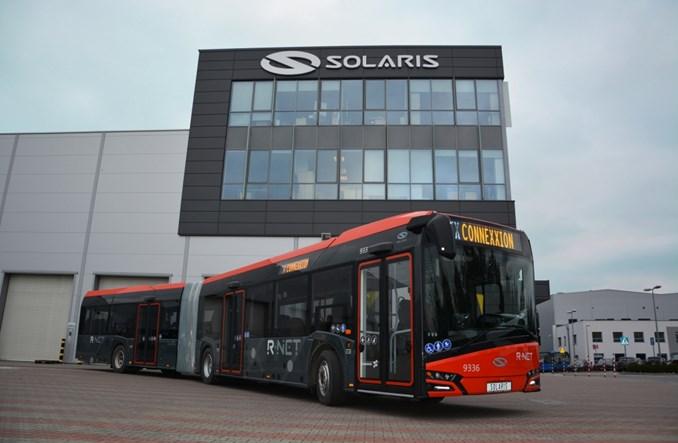 Solaris dostarczył pierwsze autobusy do Holandii