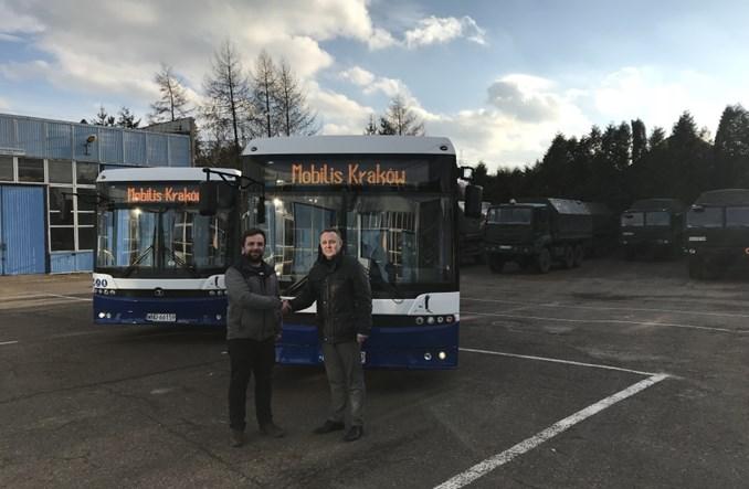 Kraków. Mobilis kupił dwa autobusy z Autosanu