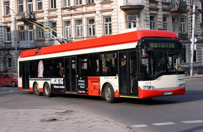 Wilno. Solaris z kontraktem 41 trolejbusów
