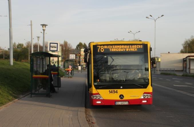 Łódź: Do Aleksandrowa znów z centrum
