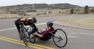 Rowerowe miasto jest przyjazne niepełnosprawnym?