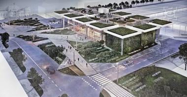 Lublin: Trwają przygotowania do budowy zintegrowanego dworca [wizualizacje]