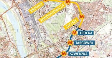 Metro na Bródno z najważniejszym dokumentem przed przetargiem