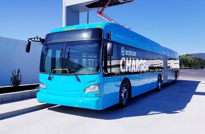 Nowy Jork zaczyna testować autobusy elektryczne