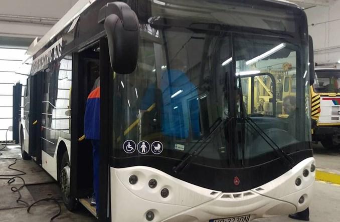 Włocławek. Testy autobusu elektrycznego od Ursus Busa