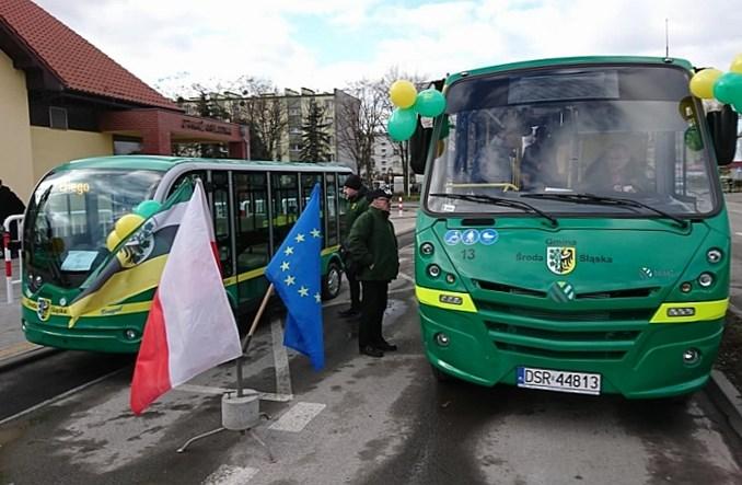 Środa Śląska. Ruszyła komunikacja publiczna [ZDJĘCIA]