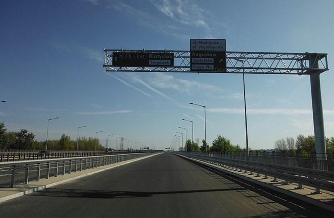 Warszawa. 62 mln aut na moście Grota–Roweckiego