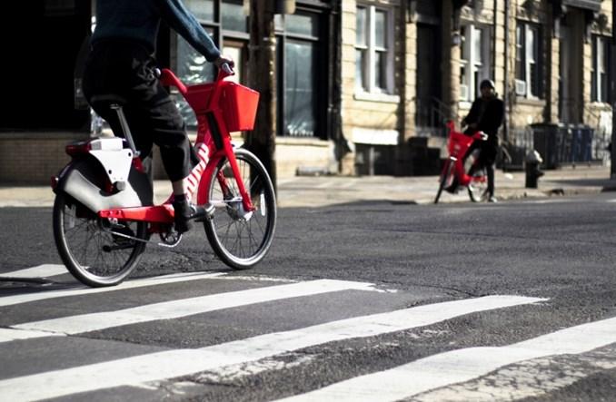 USA. Po raz pierwszy aplikacją Ubera można zamówić… rower