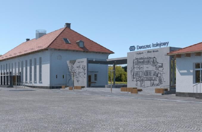 Dworzec w Olsztynku po nowemu. Rusza przetarg
