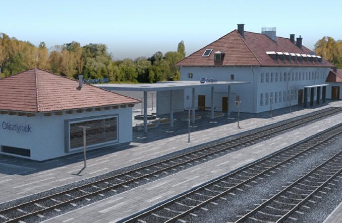 Dworzec w Olsztynku czeka przebudowa. Kolejne podejście