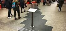 Śliskie listwy dla niewidomych w metrze. Wiosną testy nowych rozwiązań