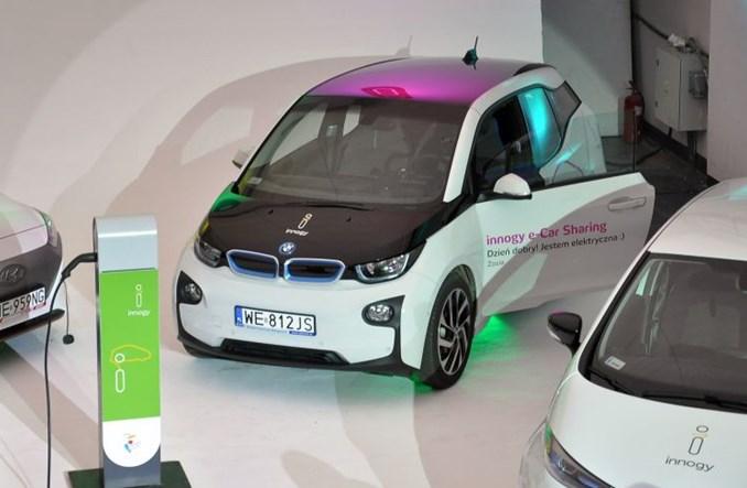 Startuje testowy car sharing Innogy w Warszawie. Tylko elektryki