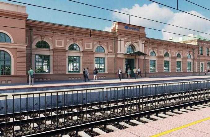 Jest przetarg na przebudowę dworca w Białymstoku [wizualizacje]