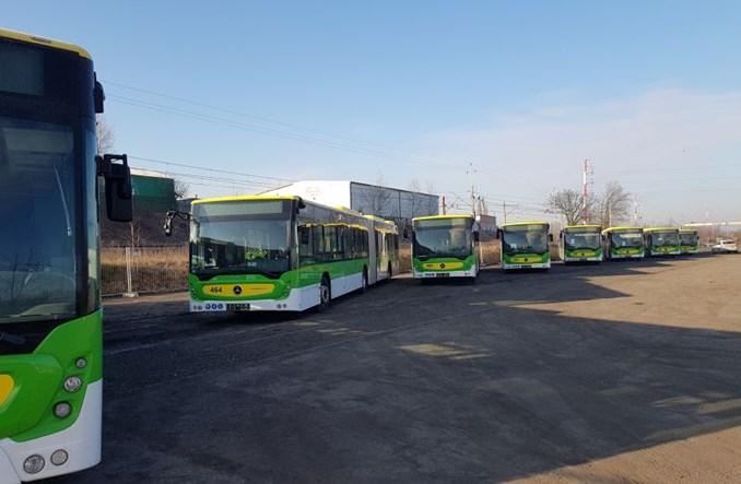 Osiem nowych autobusów w Zielonej Górze