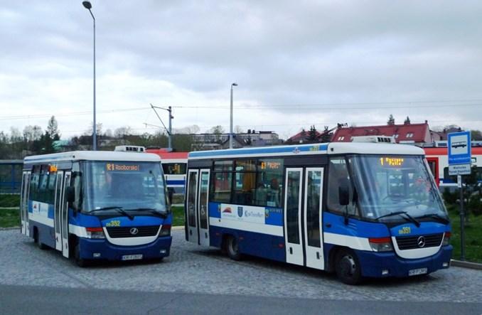 Wieliczka kupuje dwa małe autobusy
