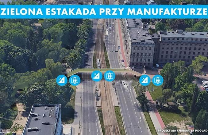 Łódź: Tajemnicze wizje kładek pod Pałacem Poznańskich