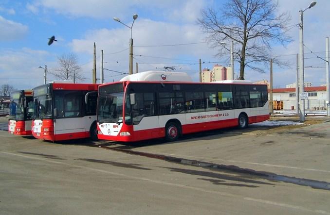 MPK Częstochowa kupiło kolejne gazowce CNG. Pięć mercedesów i MAN