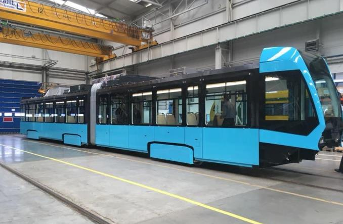 Powstający w Polsce tramwaj dla Ostrawy nabiera kształtów