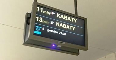 ZTM z ofertami na koncepcję ekranów na I linii metra o odjazdach komunikacji naziemnej