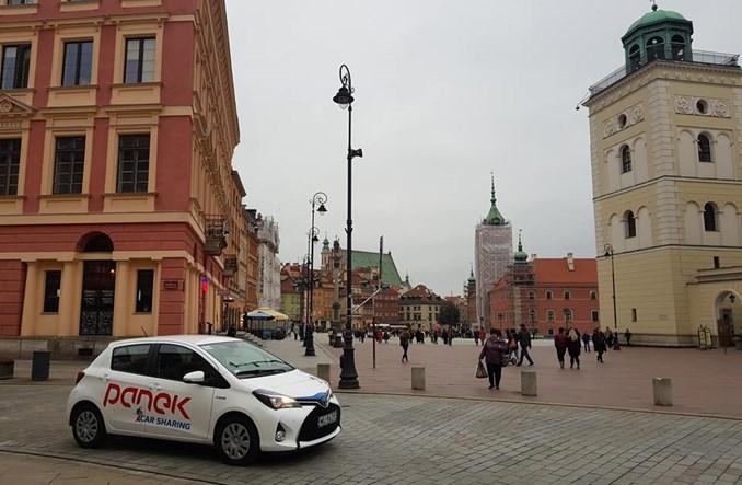 Warszawa. Tylko Panek chce stworzyć miejski car sharing